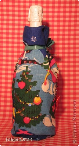 Вот такие праздничные мешочки я сшила в подарок своим близким и друзьям фото 9