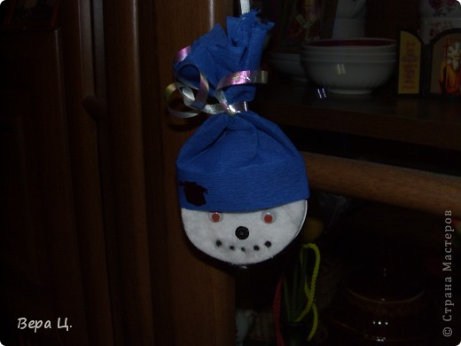 "Гирлянда ""Весёлый снеговик"" фото 2"