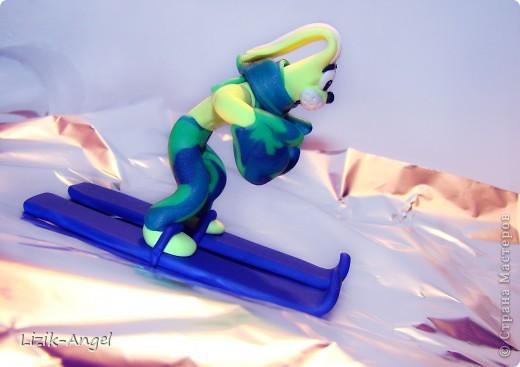 Зайка-горнолыжник фото 3