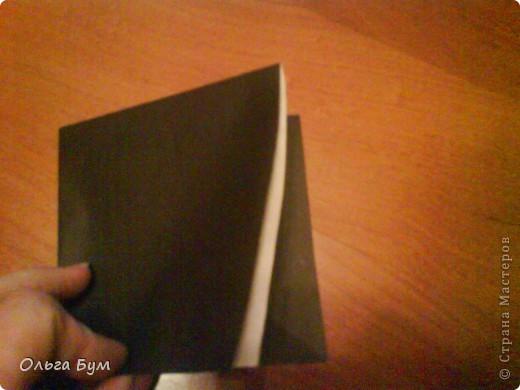 Киски-оригами. Они могут открывать рты, если нажать с двух сторон. Делаем из квадрата, полученного из листа формата А4 (стандартный лист) фото 4