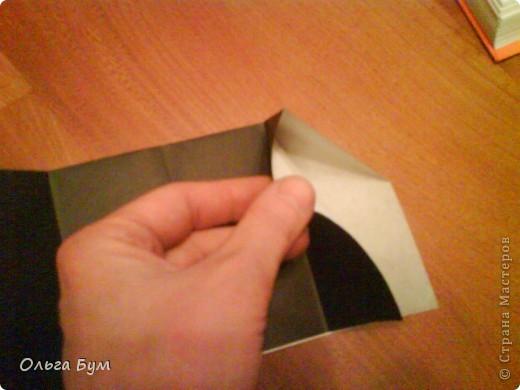 Киски-оригами. Они могут открывать рты, если нажать с двух сторон. Делаем из квадрата, полученного из листа формата А4 (стандартный лист) фото 7
