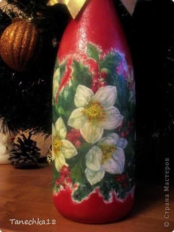 Бутылочки делала маме на новогодний стол.  фото 3