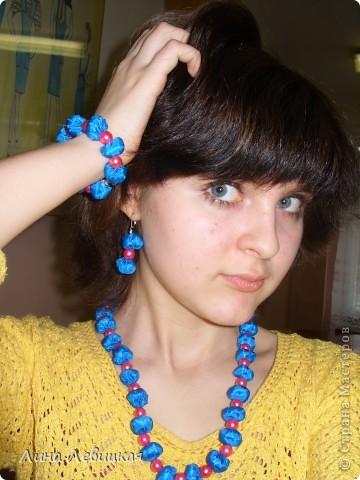 Вот такие украшения у меня получились. Идея http://stranamasterov.ru/node/41072?c=favorite фото 1