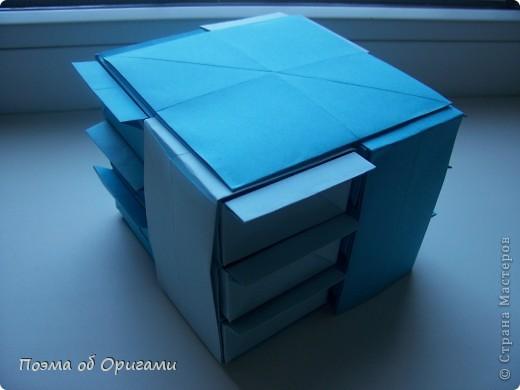 Вдохновением для этой работы послужили уже широко известные комодики, складывающиеся из спичечных коробков. Этот оригами-комод я придумала сама. Он складывается из стандартных А4 листов. Для данного примера было использовано таких 10шт.  Этот способ достаточно расширяет возможности и прежде всего - это размер готового изделия.  Для начала потребуется немного терпения и вдохновения))  А вот идеи по оформлению мини-комодов жителями Страны здесь: http://stranamasterov.ru/node/41405 http://stranamasterov.ru/node/66644 http://stranamasterov.ru/node/63054 http://stranamasterov.ru/node/6078 http://stranamasterov.ru/node/60443 http://stranamasterov.ru/node/48287 http://stranamasterov.ru/node/67696 http://stranamasterov.ru/node/40303 http://stranamasterov.ru/node/111164 http://stranamasterov.ru/node/139152 http://stranamasterov.ru/node/140311 фото 41