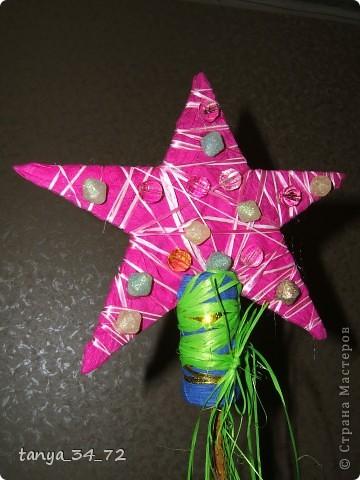 ...незадолго до нового года обнаружили отсутствие звезды для нашей елочки...