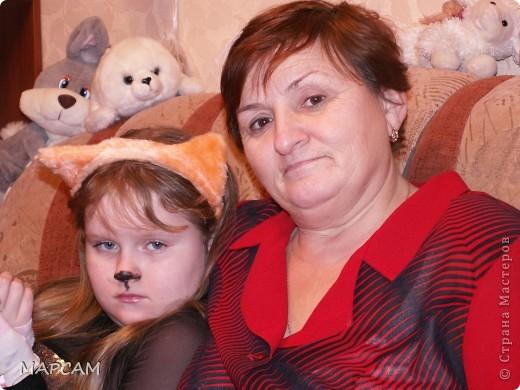 """Это мои самые близкие и любимые люди - мамочка и дочечка Анечка. Они у меня тоже товарищи творческие. Ходят на всевозможные кружки и рисование, и дизайн, и """"Умелые ручки"""" (бабушка ходит с внучкой на совместные занятия для детей и взрослых). фото 1"""