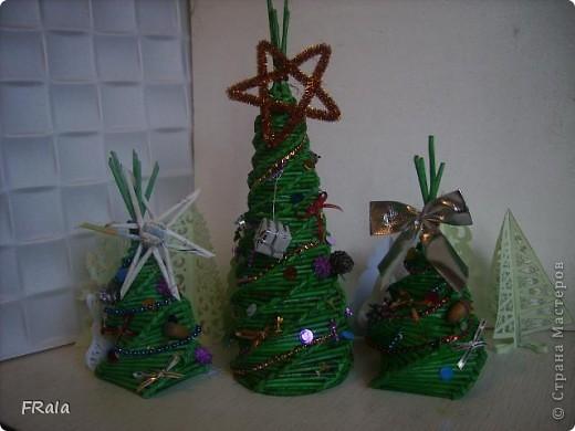Предлагаю Вашему вниманию новогоднюю гонку по изготовлению подарков.Это первые 3,но ещё не до конца оформленные фото 1