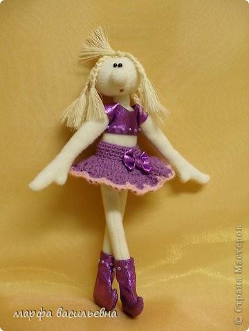 Получила огромное удовольствие,когда шила эту куклу.Подарила подруге. фото 1