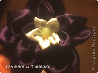 Посмотрела работы мастериц и сделала цветок. фото 1