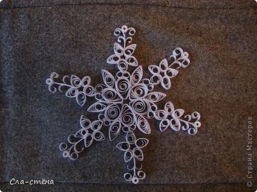 Квиллинг-снежинки фото 4