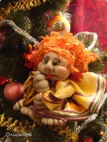 Благодаря Ликме, полюбила текстильные игрушки...Больше всего понравилось делать попиков.Это моя вторая куколка... фото 1