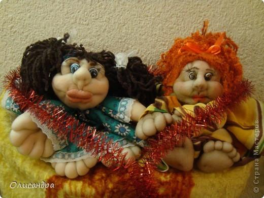Благодаря Ликме, полюбила текстильные игрушки...Больше всего понравилось делать попиков.Это моя вторая куколка... фото 4