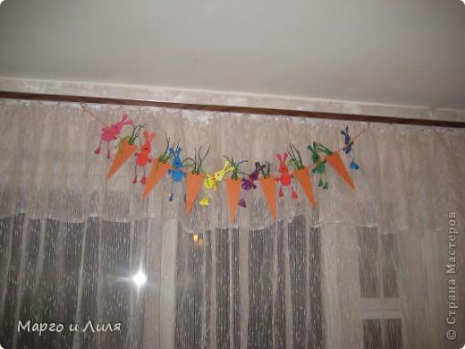 Такую гирлянду я сделала к Новому году для доченьки по МК:http://stranamasterov.ru/node/103813 фото 1