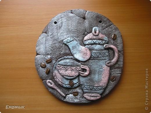 Здравствуйте! Танюшка-повторюшка сделала два кофейных панно по мастер-классам Дианы. Первое для сестры мужа. фото 4
