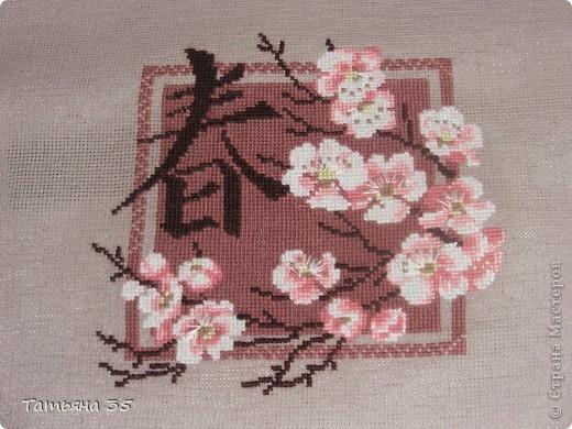 Ветка сакуры. Весна. Японская тематика фото 1