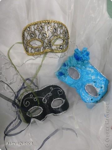 Это те самые маски! только синею в правом нижнем углу делала моя сестра)) фото 2