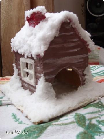 Вот сделала родителям в подарок на Новый год такой подсвечник по МК Чертенка № 13 http://stranamasterov.ru/node/112691?c=favorite фото 2