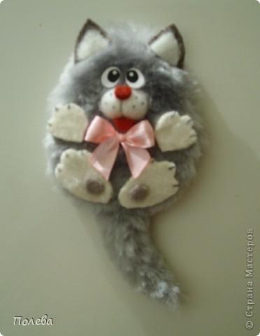 Кот-сторож для холодильника. фото 2