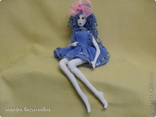 Знакомьтесь это Мальвина. Кукла подарена любимой тете.Но они обе в моем сердце! фото 1
