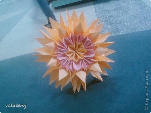 Цветы в оригами фото 29