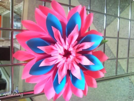 Цветы в оригами фото 11