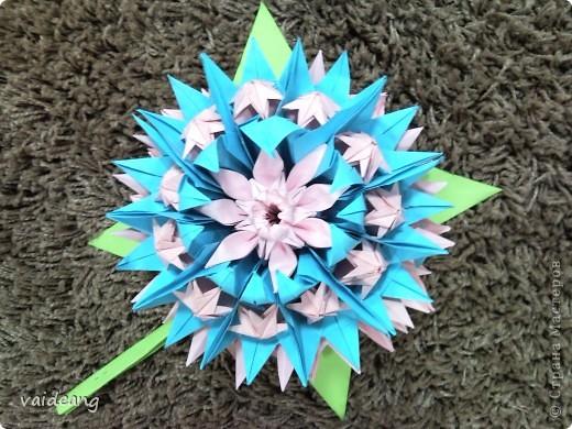 Цветы в оригами фото 2