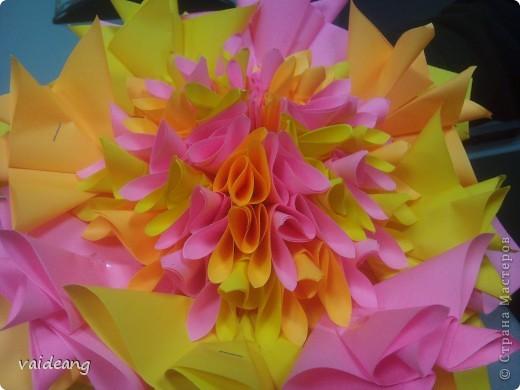 Цветы в оригами фото 6