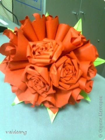 Цветы в оригами фото 9