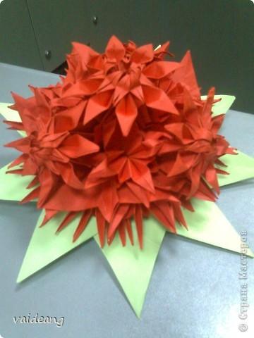 Цветы в оригами фото 18