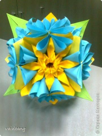 Цветы в оригами фото 26
