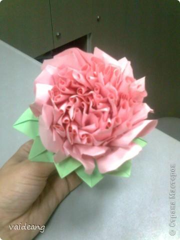 Цветы в оригами фото 23