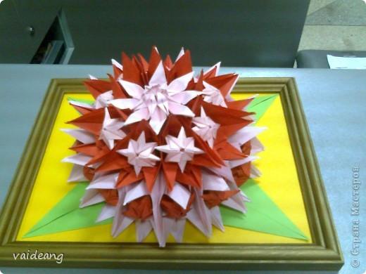 Цветы в оригами фото 15