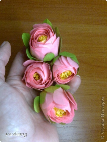 Цветы в оригами фото 8
