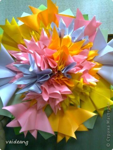 Цветы в оригами фото 7