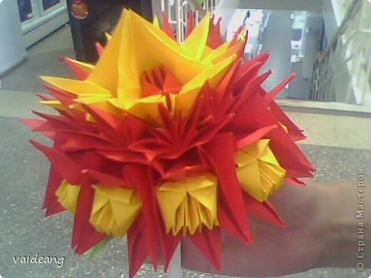 Цветы в оригами фото 22