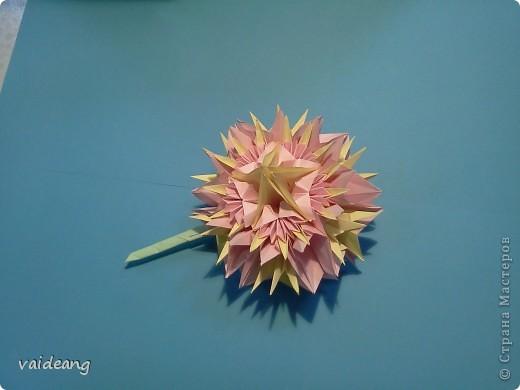 Цветы в оригами фото 14