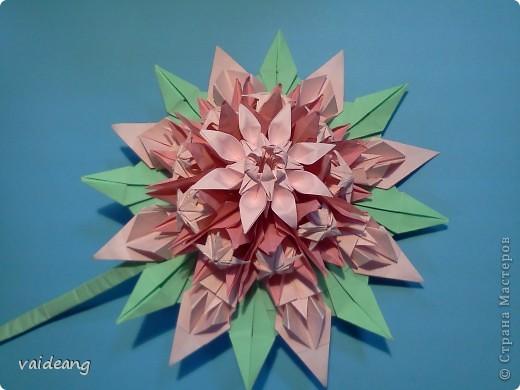 Цветы в оригами фото 13