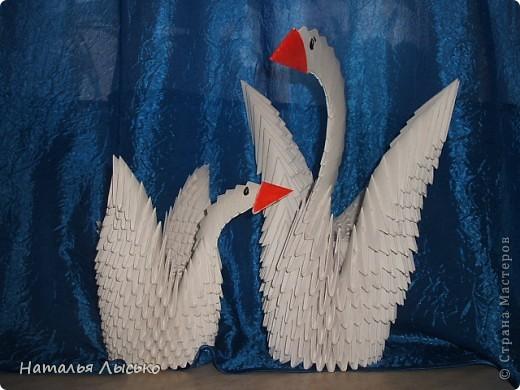 На работе все увлеклись этими лебедями. Кто для себя ,кто в подарки.И я тоже попробовала!!! фото 1