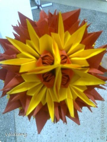 Цветы в оригами фото 21