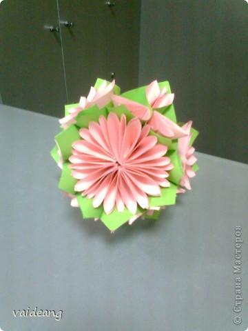 Цветы в оригами фото 28