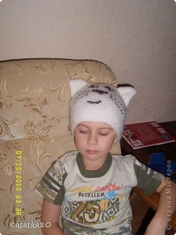 Вот такой шлемик-шапка у меня получилась! фото 2
