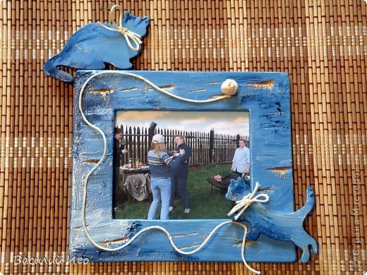 Фоторамки настенные с символами 2011 года - котами... фото 2