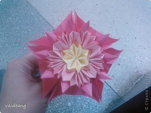 Цветы в оригами фото 1