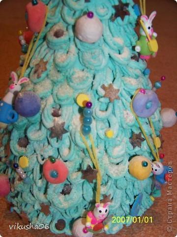 Подарок ребёнку подруги на новый год,побрызгав лаком для волос  с блёстками. фото 3