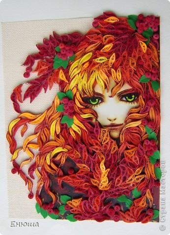 Девушка осень фото 1