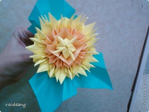 Цветы в оригами фото 17