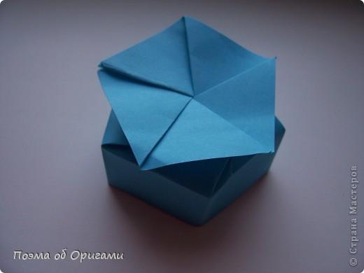 Этого паучка я придумала сама. Пятигранная коробочка поместит дорогие вашему сердцу вещи, а паучок будет беречь их как зеницу ока. фото 15
