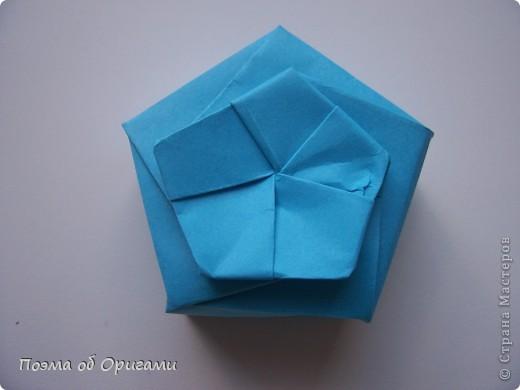 Этого паучка я придумала сама. Пятигранная коробочка поместит дорогие вашему сердцу вещи, а паучок будет беречь их как зеницу ока. фото 17