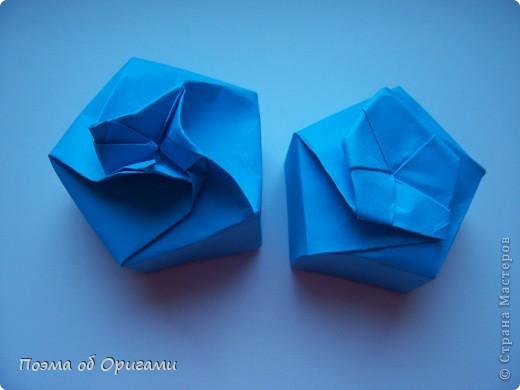 Этого паучка я придумала сама. Пятигранная коробочка поместит дорогие вашему сердцу вещи, а паучок будет беречь их как зеницу ока. фото 21