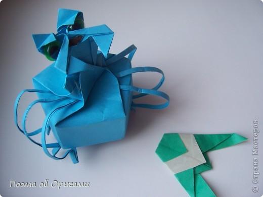 Этого паучка я придумала сама. Пятигранная коробочка поместит дорогие вашему сердцу вещи, а паучок будет беречь их как зеницу ока. фото 43